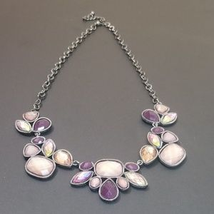 Style & Co Purple jeweled necklace